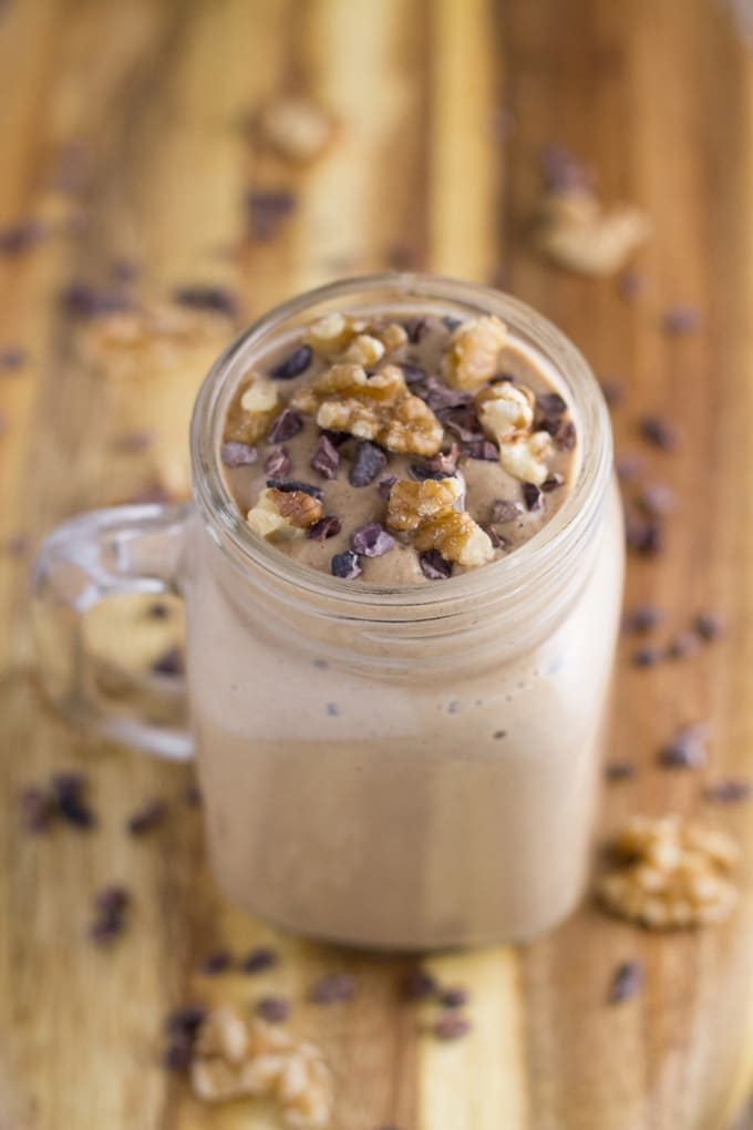 10 Best Healthy Breakfast Recipes | Chocolate Walnut Breakfast Mousse. I love it as it is a little different than your standard breakfast meals, yet is still healthy and fills you up nicely.