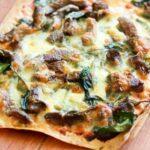 Greek Lamb Pizza