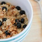 This Breakfast Quinoa with Blueberries, Coconut and Walnuts is your gluten free porridge alternative and it is totally delicious too