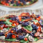 Buckwheat Pizza. This is my go-to pizza recipe! It is easy to prepare, no rising is needed, choose your toppings and enjoy!