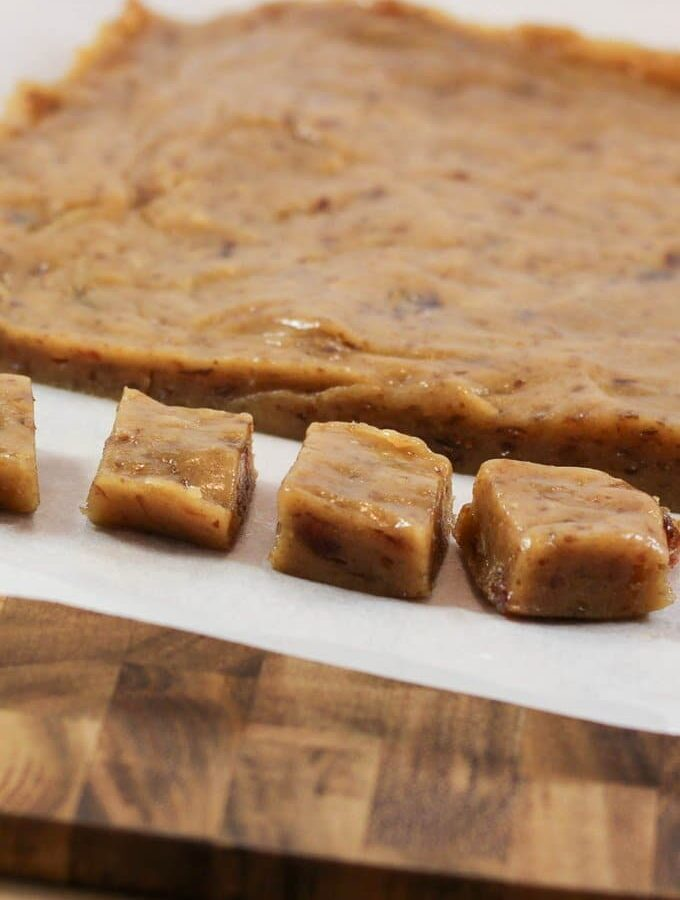 Nut Free Caramel Fudge