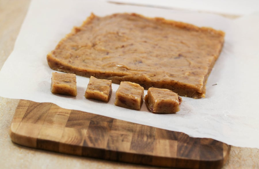 Nut Free Caramel Fudge