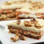 This Raw Carrot Cake is totally amazing. It is full of healthy ingredients and tastes so fresh.