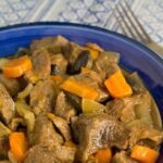 This Slow Cooker Beef & Vegetable Stew makes a great winter weeknight meal