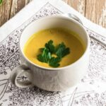Roast Pumpkin & Coconut Soup has to be to at the top of the healthy soup list - it's fairly straightforward, and surprisingly filling for a soup with relatively few ingredients.