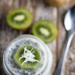 Coconut & Kiwi Fruit Chia Pudding. Kiwi fruit and coconut are really a match made in heaven and if you haven't tried them together, you are seriously missing out!