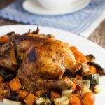Roast Chicken & Vegetables. Classic meal that is so easy to make!