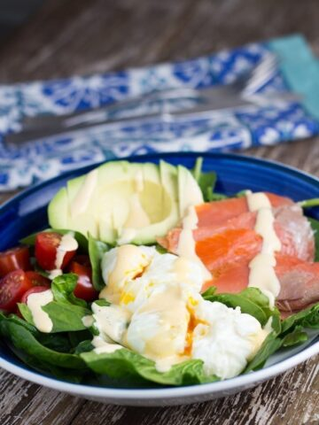 Breakfast Salad - the perfect keto breakfast recipe.