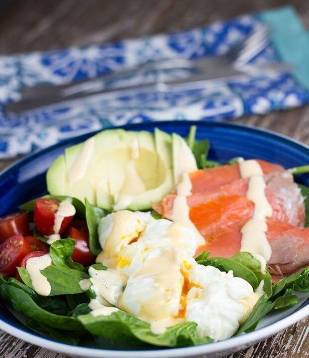 Breakfast Salad - the perfect keto breakfast recipe.