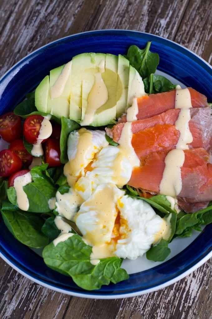 10 Best Healthy Breakfast Recipes | Breakfast Salad - the perfect keto breakfast recipe.