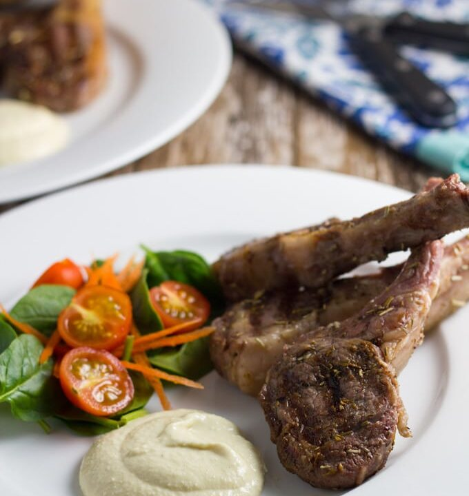 If you are after an easy to cook meal, then you can't go past my Greek Lamb Cutlets with Garlic Aioli – they are flavourful, quick and easy to make, and make a great component of a main meal, or a great appetizer by themselves.