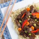 This Slow Cooker Mongolian Lamb is packed full of flavour is so easy to make.