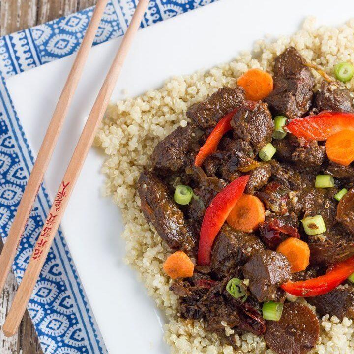 Slow Cooker Mongolian Lamb