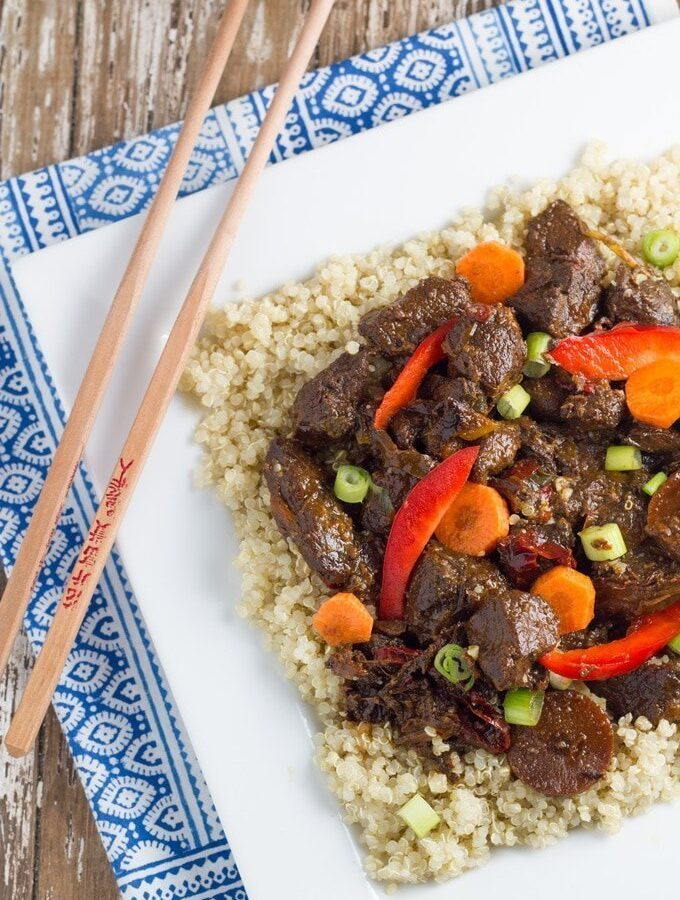 Slow Cooker Mongolian Lamb
