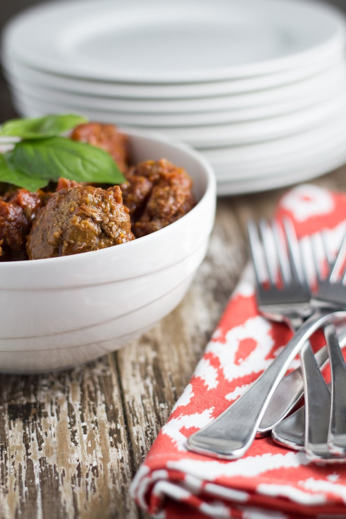 Slow Cooker Meatballs. Super yummy meal that is simple to make!