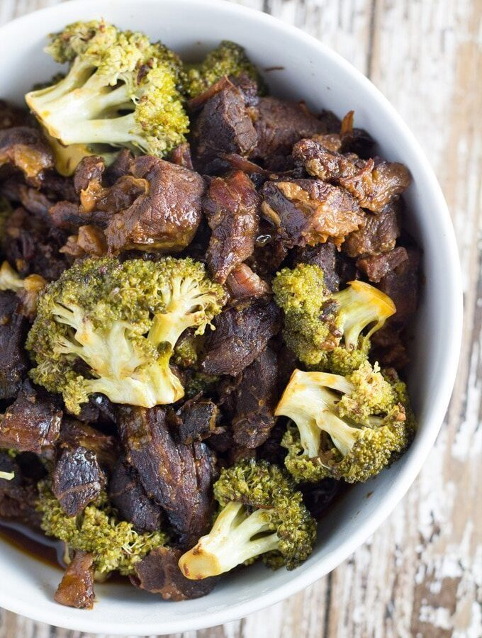 Slow Cooker Beef and Broccoli Stirfry