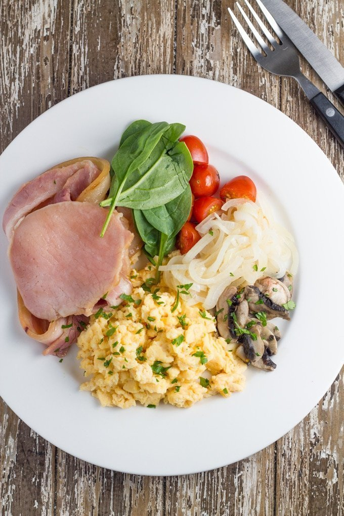 Healthy Big Breakfast