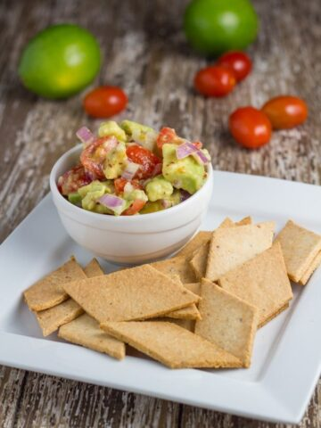 Paleo Crackers. My favourite healthy and gluten free crackers.