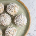 Raw Caramel Macadamia Bliss Balls (includes Thermomix recipe)