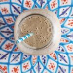 Salted caramel smoothies are seriously one of the yummiest smoothies!