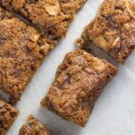 Anzac Slice. This is my adaptation of the popular biscuit. The result is a seriously tasty, chewy & super simple to make slice. PLUS it is gluten, dairy and refined sugar free! YUM!