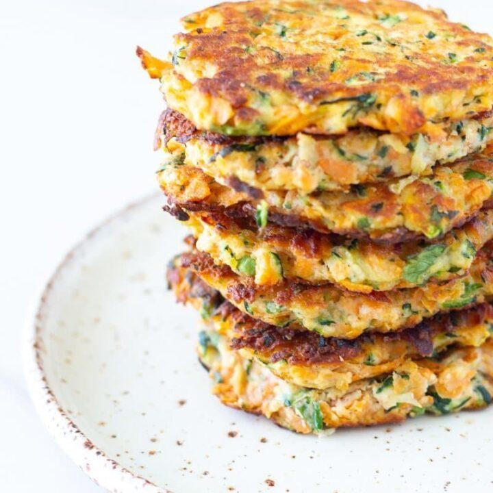 Zucchini & Sweet Potato Fritters