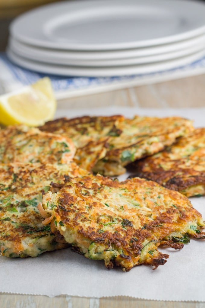 These healthy zucchini and sweet potato fritters are packed full of flavour and are super easy to make.