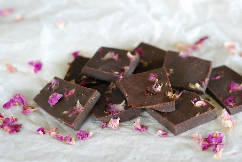 Rose Petal Chocolate | Christmas | Jules Galloway