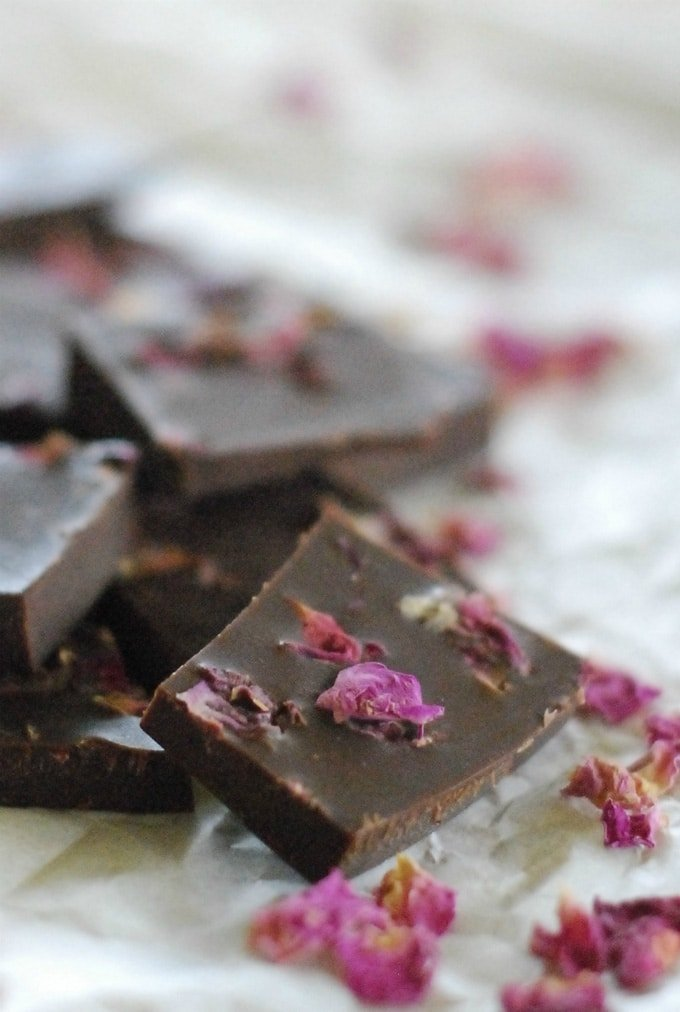 Rose Petal Chocolate | Christmas | Jules Galloway
