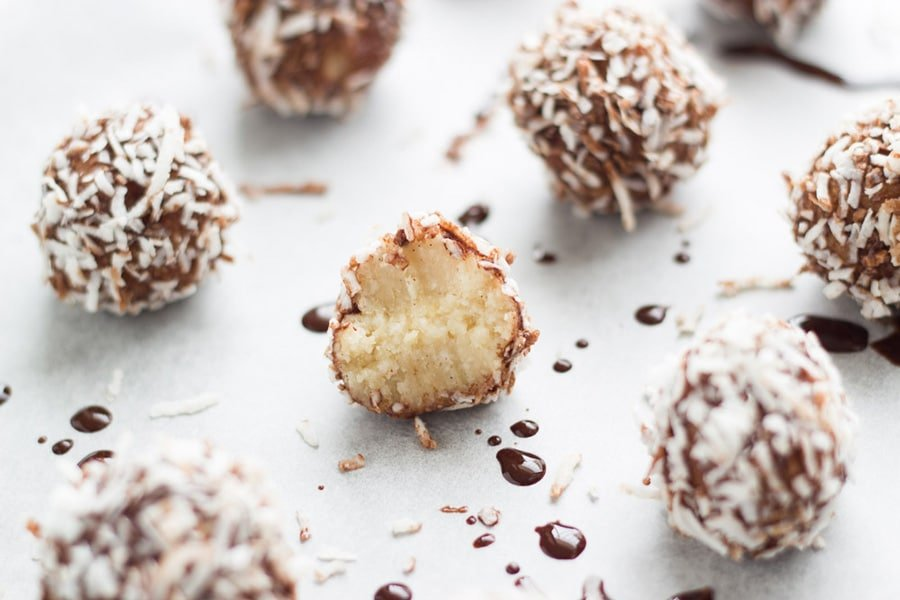 These Lamington Bliss Balls are yummy, super easy to make and tick most of the boxes - gluten free, dairy, free, refined sugar free, vegan and paleo!