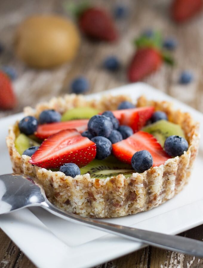 Raw Fruit Tart