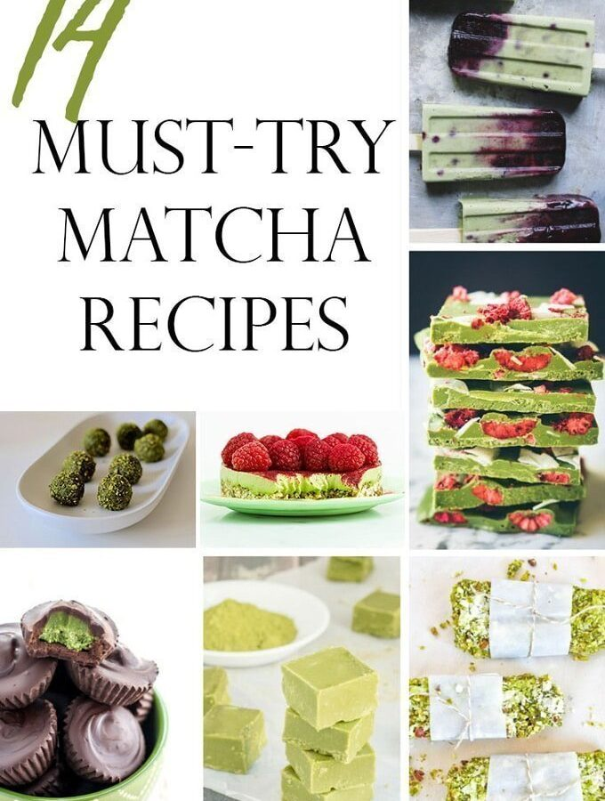 14 Must-Try Matcha Recipes