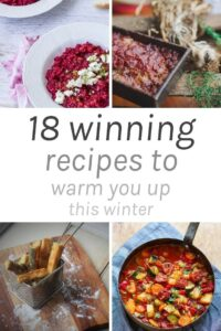 18 Winning Recipes to Warm you up this Winter - There is nothing better than eating healthy warming foods during winter. Think one pot dishes, slow cooker meals, soups, baked desserts and hot drinks. The possibilities are endless!!