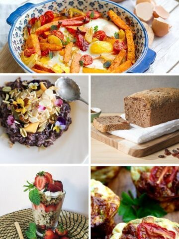 These 11 healthy & easy breakfast recipes make great alternatives to the unhealthy options out there.