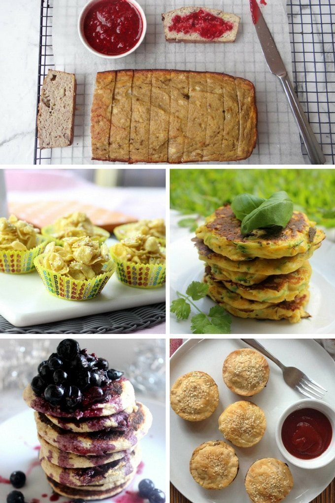 These 16 healthy lunch box recipes are guaranteed to keep both mum and dad and the kids happy! Includes both sweet and savoury options. #healthylunchbox #lunchboxrecipes #healthyfood   becomingness.com.au