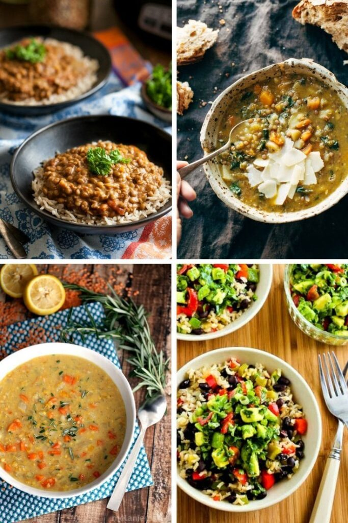 10 Vegetarian Slow Cooker Recipes That Will Warm You Up during the colder months.