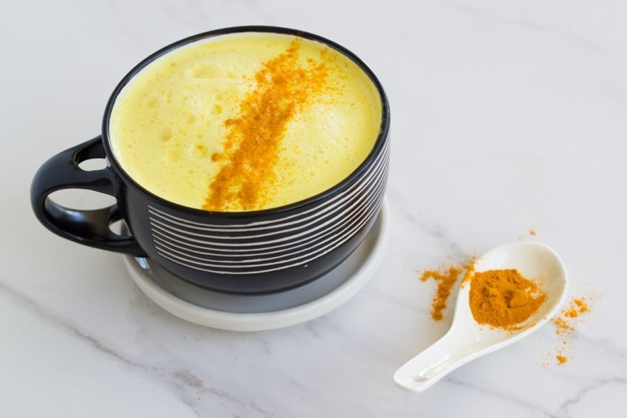 Golden Turmeric Lattes are amazing and full of so many health benefits. This dairy free version is the BEST!