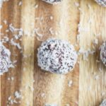 These nut free jaffa bliss balls will take you back to when it was cool to eat Jaffa's at the movies!