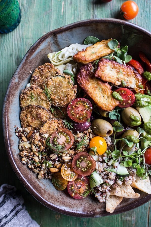 Greek Goddess Grain Bowl