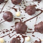 Raw Chocolate Caramel Macadamia Truffles. Make the perfect after dinner treat!They are delicious and look amazing! Your guests won't believe that you actually made them. Thermomix version