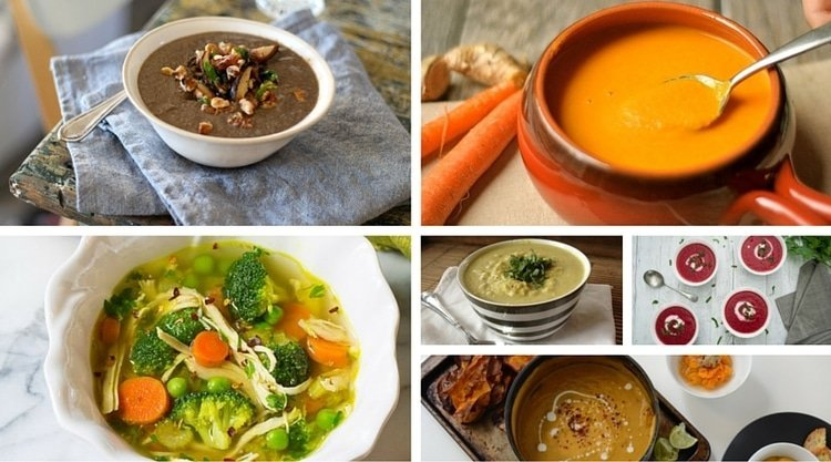 Top 7 Winter Warming Soup Recipes to keep you nice and warm this winter.