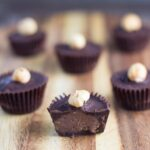 Ferrero Rocher Cups. The healthier version of the popular chocolate and they are dairy and refined sugar free. YES PLEASE!