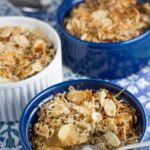 Gluten Free Apple Crumble. The perfect warming dessert. It is gluten, dairy and refined sugar free! So yummy!