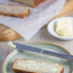 Banana Bread. Not only is the banana bread gluten and nut free, itis also dairy free as well as sugar free, as it is only sweetened by the bananas. Healthy and delicious!!