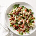 King prawns with preserved lemon guacamole | Christmas | Pete Evans