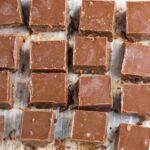 Chocolate Nut Fudge. Delicious healthy fudge! A small piece goes a long way!