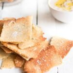 Rosemary and Sea Salt Grain Free Crackers | Christmas | Jo Anderson - The Luminous Kitchen