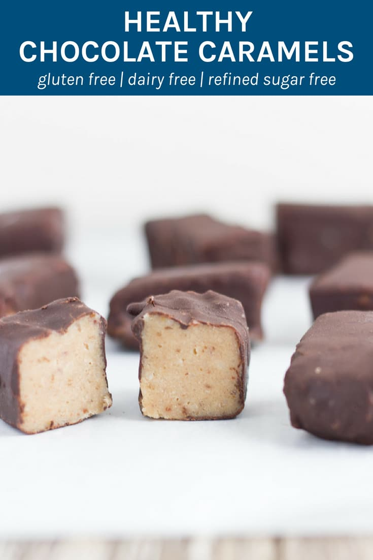 Healthy Chocolate Caramels. All I can say is WOW, these gluten, dairy & refined sugar free raw chocolates are absolutely amazing!