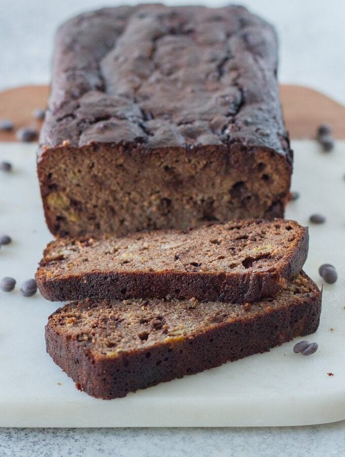 The Tastiest Ever Gluten Free Chocolate Banana Bread