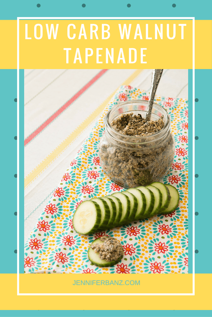 Walnut and Olive Tapenade | 10 Easy Low Carb & Keto Savoury Snacks